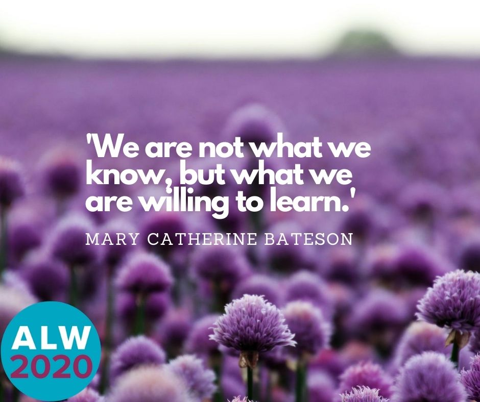 We are not what we know, but what we are willing to learn