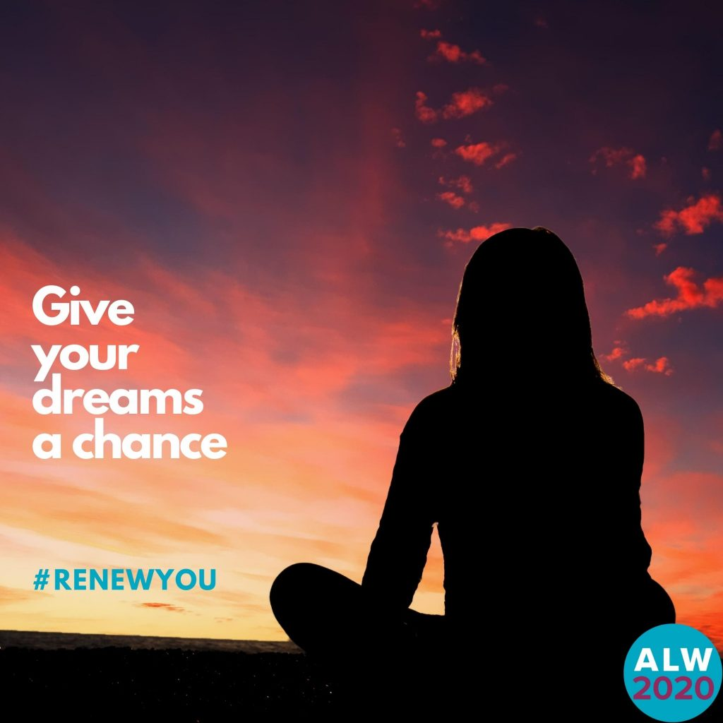 Give your dreams a chance #ReNewYou